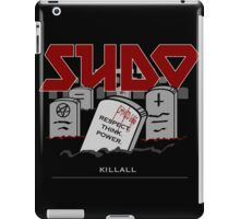 SUDO - Heavy Metal Sysadmin iPad Case/Skin
