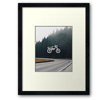 Motorcycle 2 Framed Print