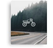 Motorcycle 2 Canvas Print
