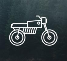 Motorcycle 2 Sticker
