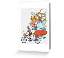 Life on the Move Greeting Card