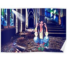 Abandoned Fashion Fine Art Print Poster
