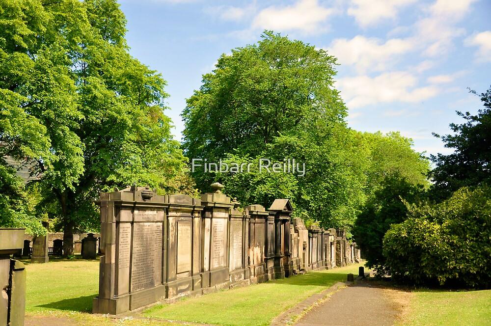 Saint Cuthbert's Churchyard. Edinburgh. by Finbarr Reilly