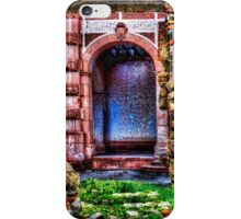 Behind The Wall Fine Art Print iPhone Case/Skin