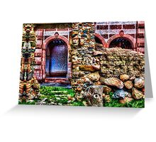 Behind The Wall Fine Art Print Greeting Card