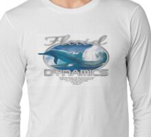 fluid dynamics logo Long Sleeve T-Shirt