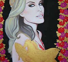 Kylie Minogue Aphrodite by Louise Griffiths