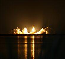 Endeavour Space Launch # 1 by Terra Berlinski