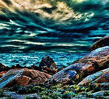 Before Sunset Fine Art Print by stockfineart