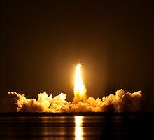 Endeavour Space Launch # 3  by Terra Berlinski