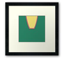 TV Uniforms - Lost In Space - Don West - Style 2 Framed Print