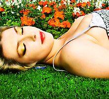 Sleeping summer beauty by Hannah Elizabeth Wells