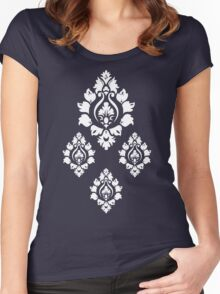 Wall Flower Pattern  Women's Fitted Scoop T-Shirt