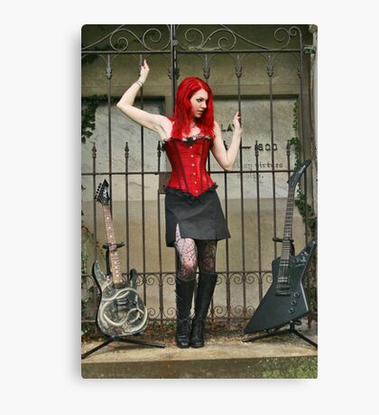 Rock Gothic Canvas Print