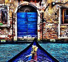 Venice Gondola Fine Art Print by stockfineart