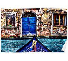 Venice Gondola Fine Art Print Poster