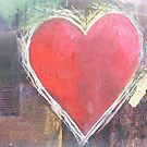 Love Heart Abstract by Andy  Housham