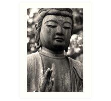 Japanese Buddha Art Print
