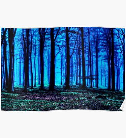 Into The Darkness Fine Art Print Poster