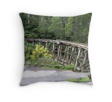 REDREAMING TRAINS Throw Pillow