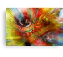 The Dragon Dancer Canvas Print