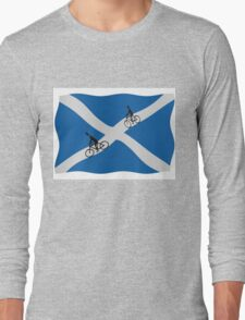 Scottish cycling Long Sleeve T-Shirt