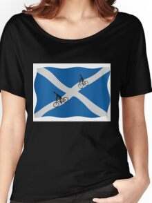 Scottish cycling Women's Relaxed Fit T-Shirt