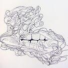 Tangled teeth. by Fran Webster