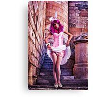 Pink Princess Fine Art Print Canvas Print