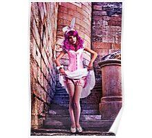Pink Princess Fine Art Print Poster
