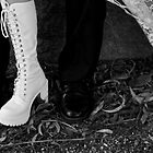 Wedding boots  by mandyemblow