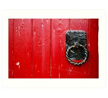 Red Knockers Art Print