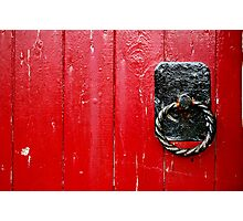 Red Knockers Photographic Print