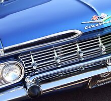Blue Classic Chevrolet by pcimages