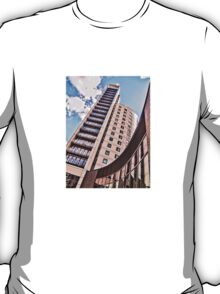 High rise living in Clarence Dock, Leeds. T-Shirt