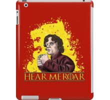 Hear Me Roar iPad Case/Skin