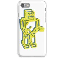 Robot Pop Art Graphic iPhone Case/Skin