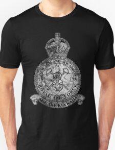 75(NZ) Squadron RAF Crest - Vintage White Unisex T-Shirt