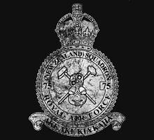 75(NZ) Squadron RAF Crest - Vintage White Women's Tank Top