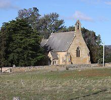 St John the Baptist, Buckland. Tasmania by PaulWJewell
