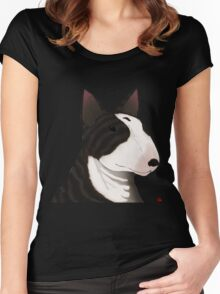 ENGLISH BULL-TERRIER Women's Fitted Scoop T-Shirt