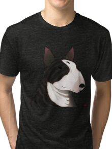 ENGLISH BULL-TERRIER Tri-blend T-Shirt