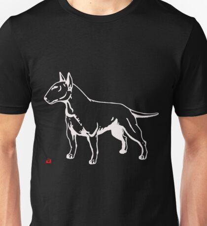 ENGLISH BULL-TERRIER Unisex T-Shirt