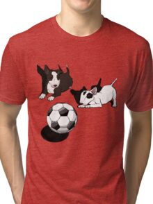 ENGLISH BULL-TERRIER Tri-blend T-Shirt