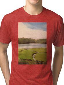 Devoran Creek Cornwall  Tri-blend T-Shirt