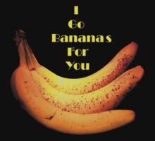 I Go Bananas For You by terrebo