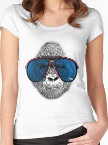 OAK CITY APE Women's Fitted Scoop T-Shirt