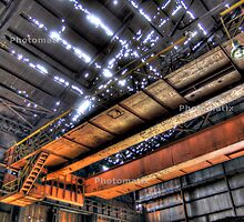 Old Pittsburgh Steel Mill by donniewagner