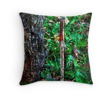 The Bloody Forest Fine Art Print Throw Pillow