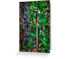 The Bloody Forest Fine Art Print Greeting Card